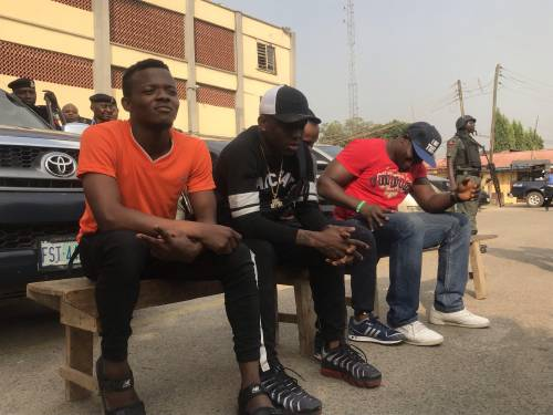 Small Doctor Arrested & Paraded after allegedly Threatening to Shoot a Policeman | BellaNaija