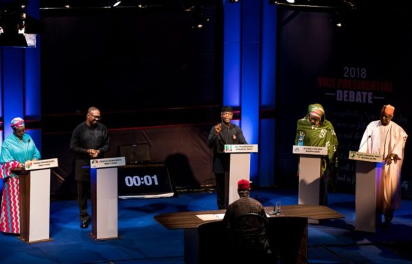 Watch 5 Vice-Presidential Candidates go Head-to-Head in the NEDG/BON Debate | BellaNaija