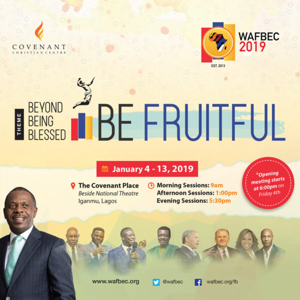 The 2019 West Africa Faith Believers Conference