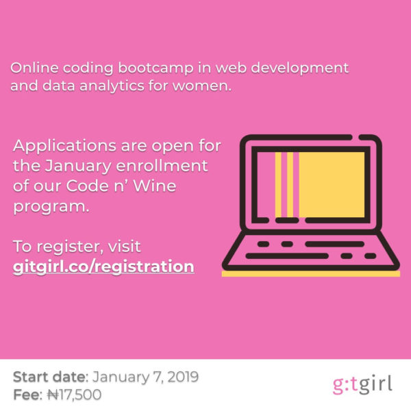 Code N' Wine Coding Bootcamp by GitGal