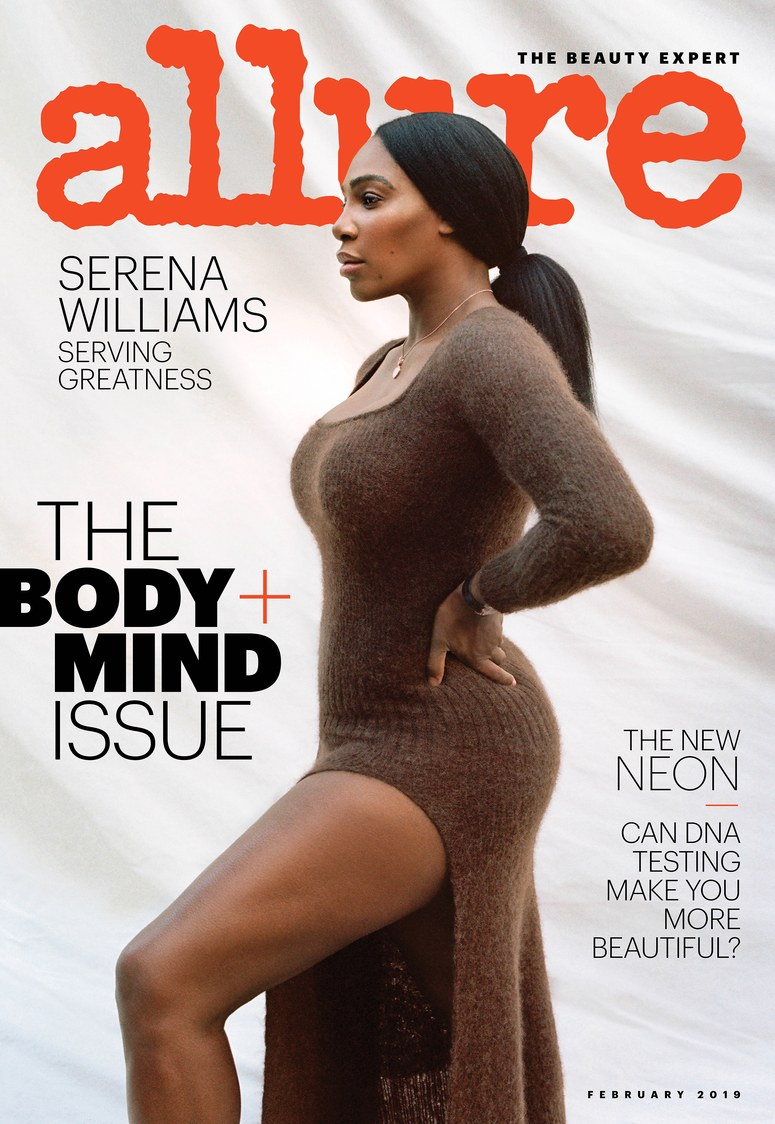 Serena Williams is serving Greatness on the cover of Allure Magazine's Latest Issue 😍