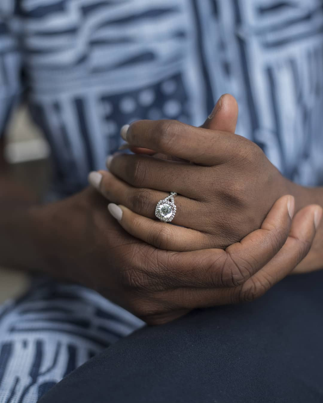 Akah and Claire - Nigerian actor, Akah Nnani is engaged!