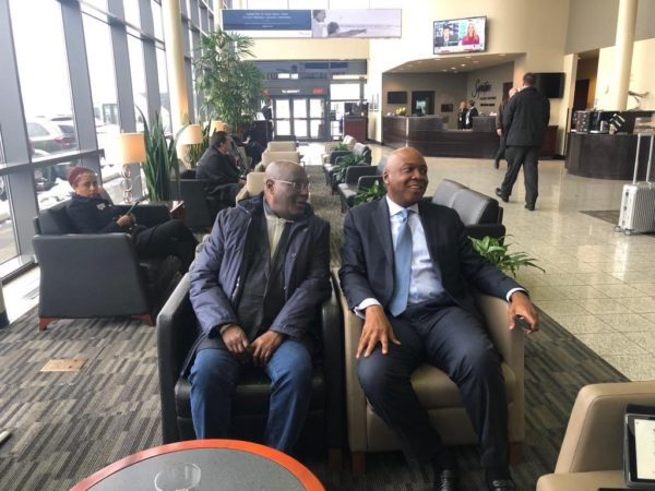 Atiku visits U.S, meets with Nigerians Living in Washington