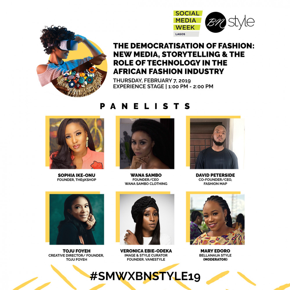#SMWxBNSTYLE19: Meet the Speakers for the BellaNaija Style Panel at Social Media Week 2019