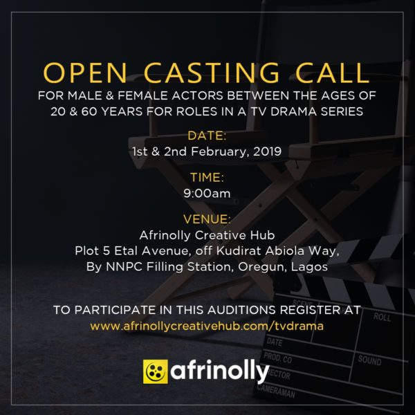 Afrinolly Acting Casting Call