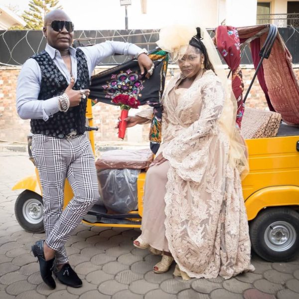 Charly Boy's birthday message to wife Lady D is both Hilarious and Tender ❤