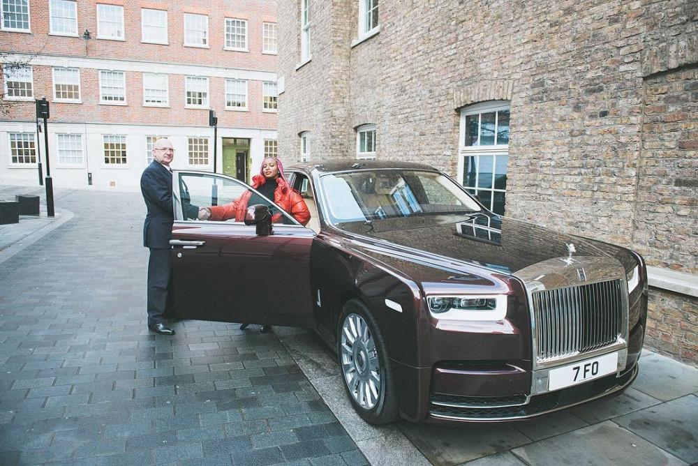 DJ Cuppy buys new Rolls Royce