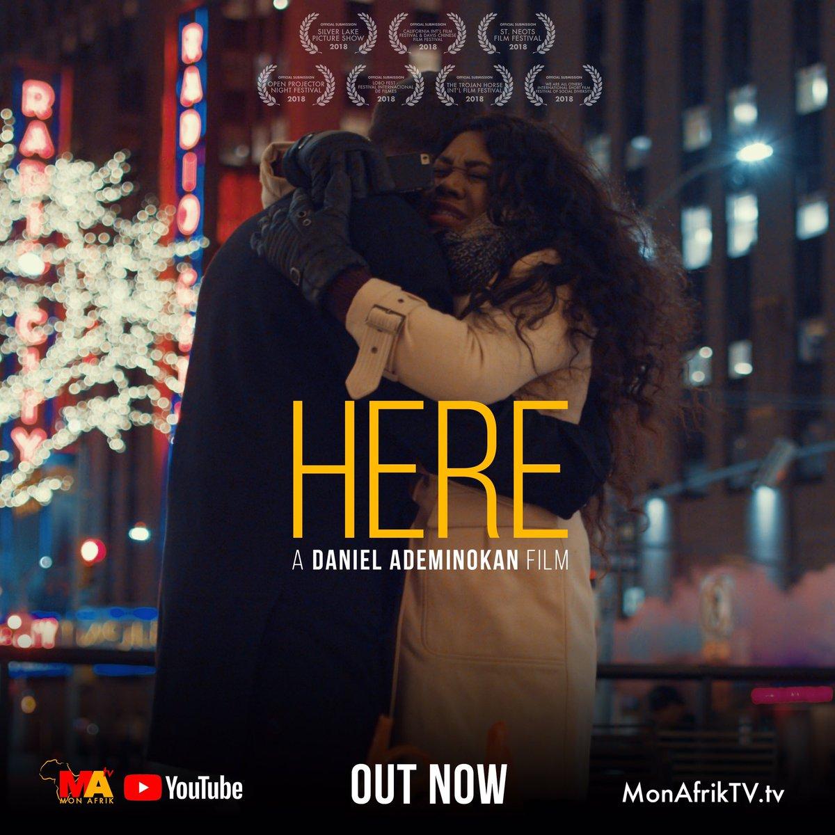 "Stella Damasus & Daniel Ademinokan team up for New Short Film ""Here"" | WATCH on BN TV"