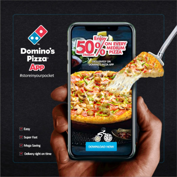 Enjoy A Whopping 50 Discount When You Order Pizza From The New