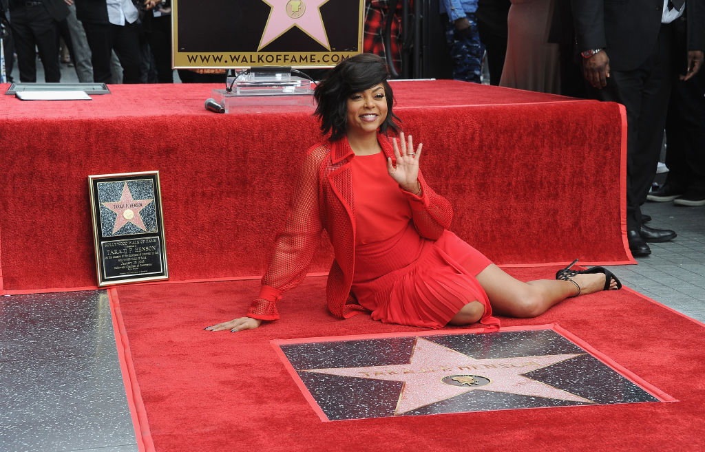 Taraji P. Henson gets Emotional While Receiving Hollywood Star | WATCH