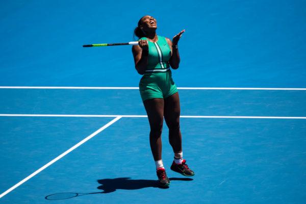 Serena Williams bows out of Australian Open after Shocking Loss to Pliskova | BellaNaija