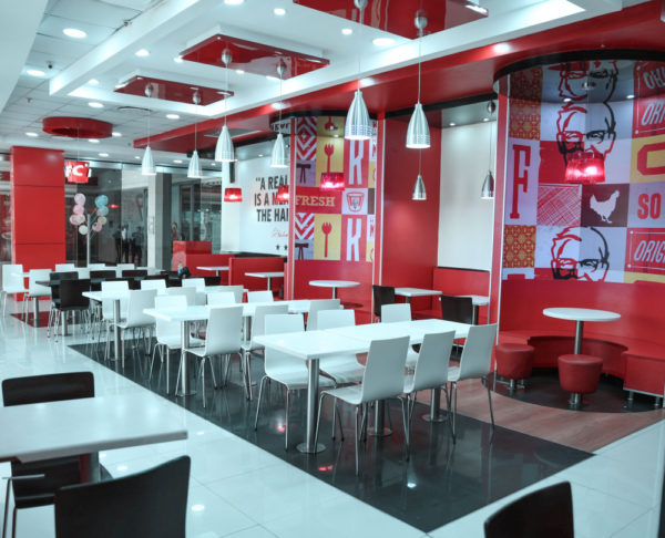 KFC Revamps its Ikeja City Mall Outlet
