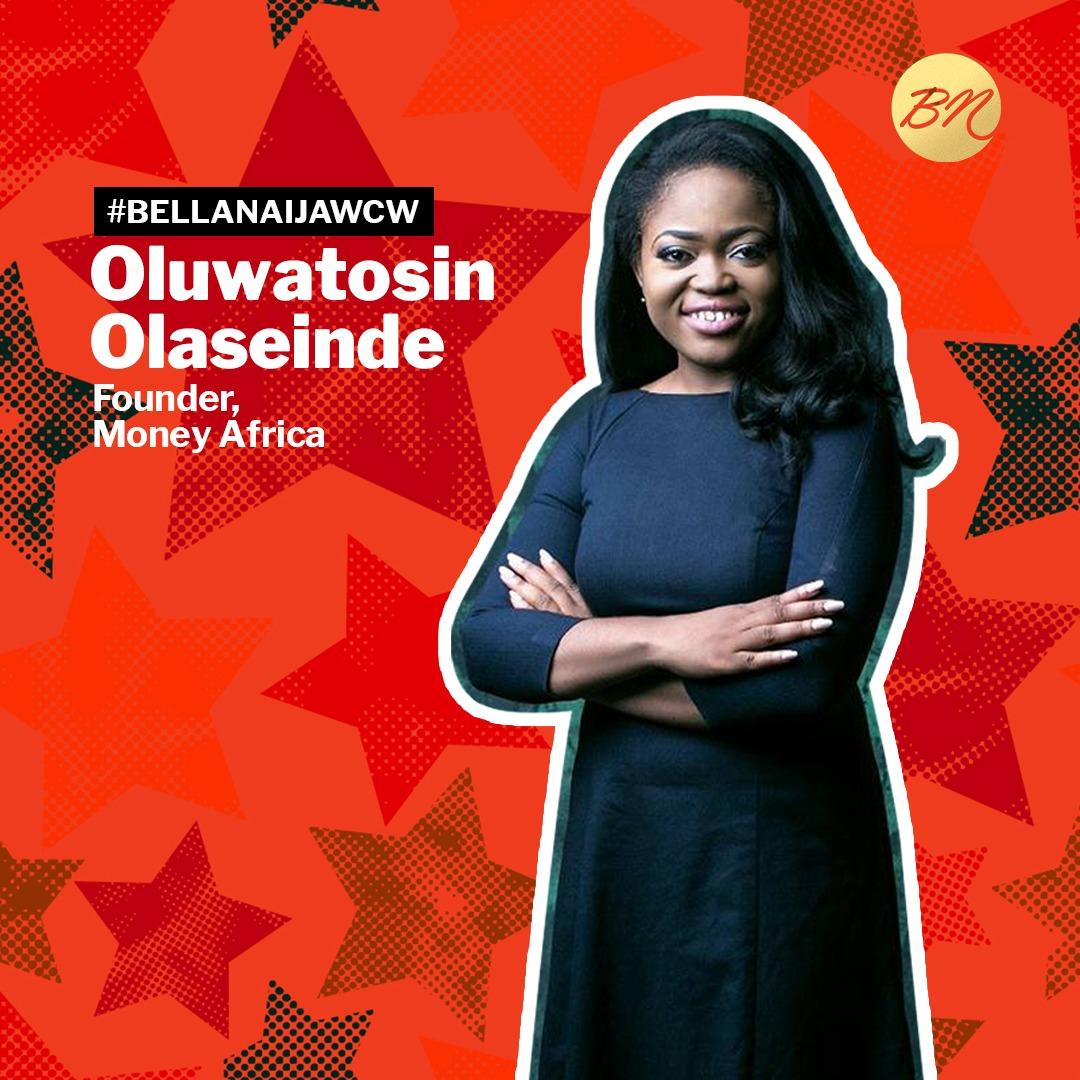 Financial Literacy Pro Oluwatosin Olaseinde of Money Africa is our #BellaNaijaWCW this Week!