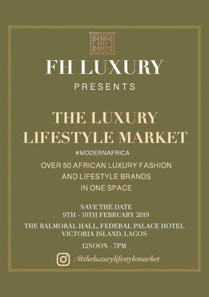The Luxury Lifestyle Market pop-up event
