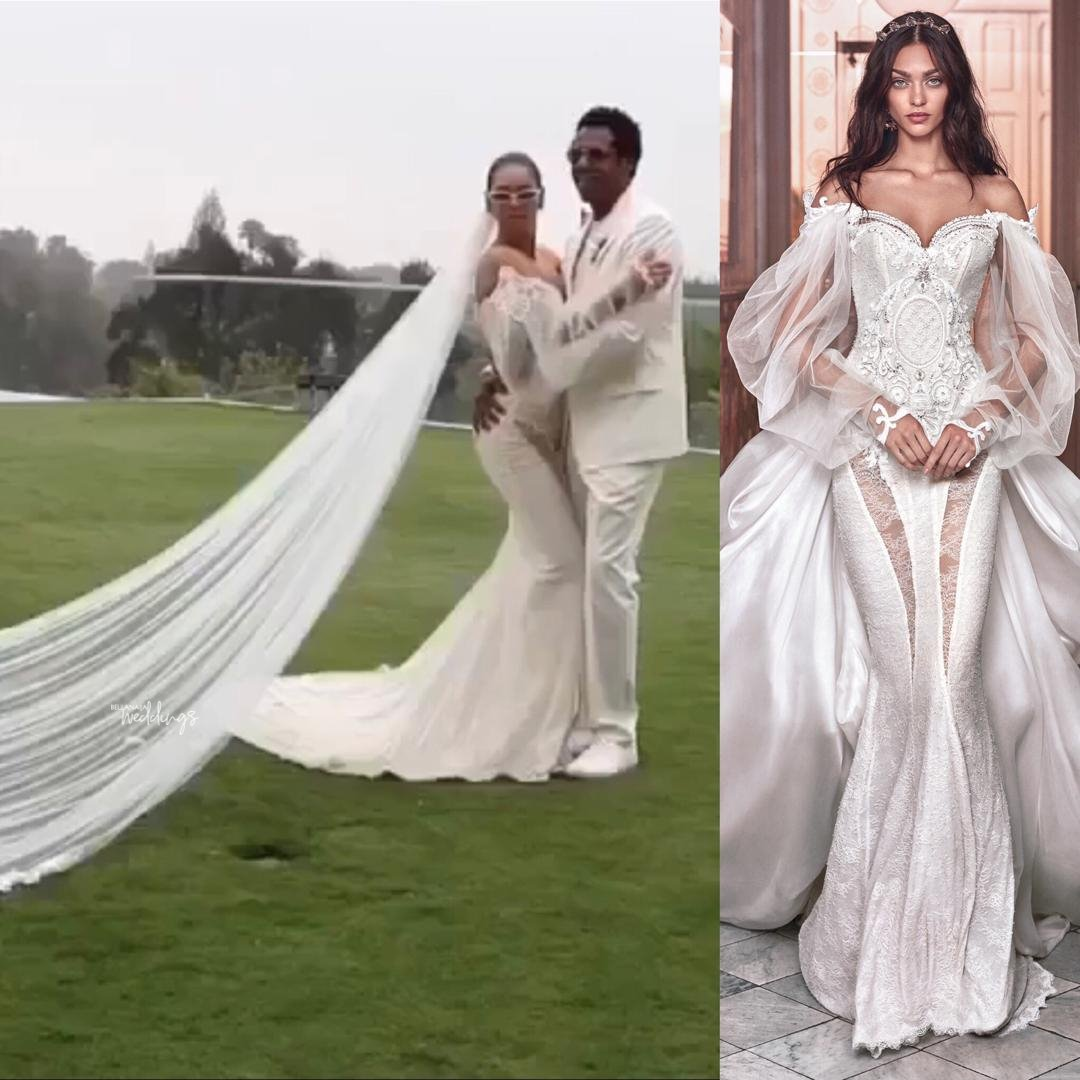 c11158a8d75 Here s the Dress Beyonce Wore for her Secret Vow Renewal with Jay-Z