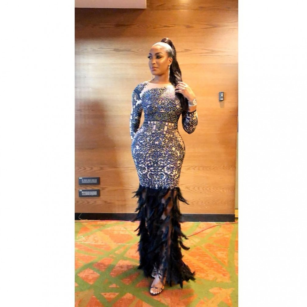 First Photos! Denola Grey, Uti Nwachukwu, Teni, Ireti Doyle attend Soundcity MVP Award Festival