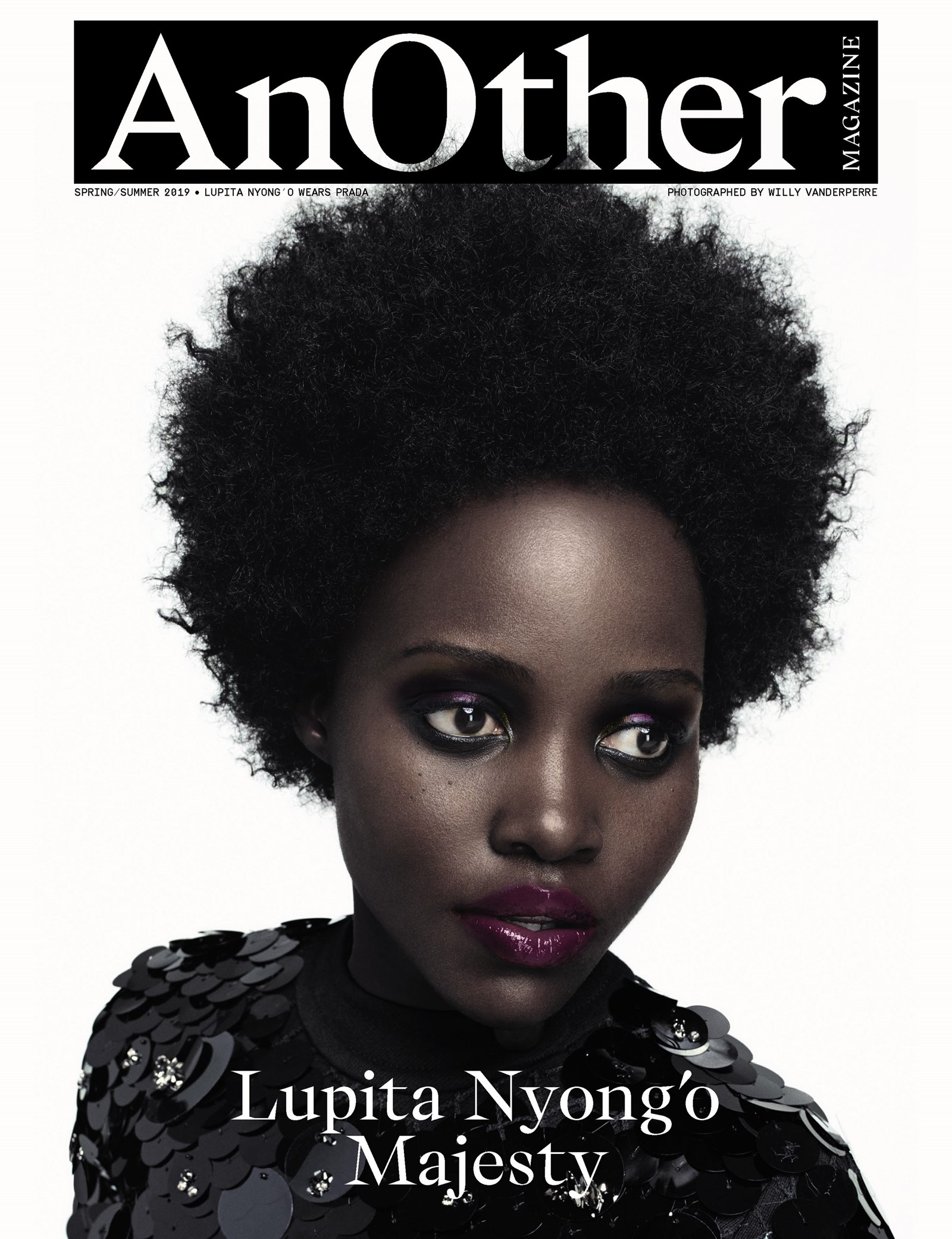 Lupita Nyong'o's cover for AnOther Magazine's Newest Issue is as Artsy as it Gets