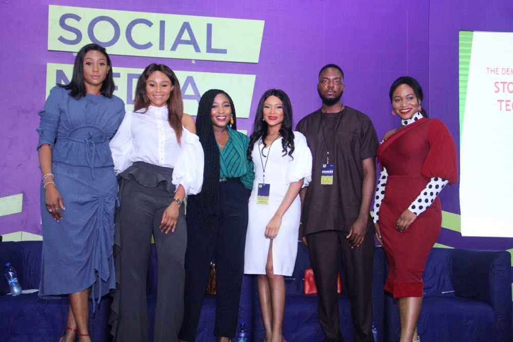 #SMWxBNStyle19: Here's Everything that Happened at the BellaNaija Style Panel at Social Media Week Lagos 2019