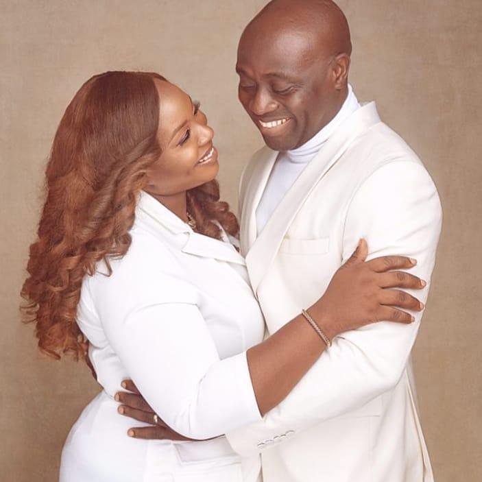 Entrepreneur Familusi Akin Babajide & wife Damilola are celebrating their 10th Year Wedding Anniversary with these Cute Photos