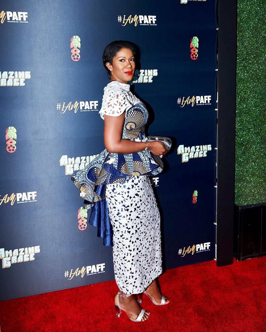 Stephanie Linus Amp Husband Attend Opening Night Of Pan