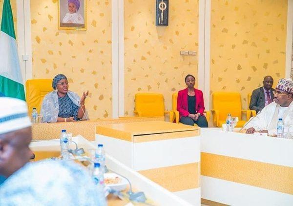 The Cable News: Aisha Buhari back in Nigeria after Health Scare | BellaNaija