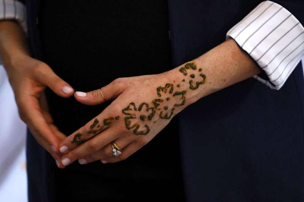 Meghan Markle Got a Henna Tattoo to Celebrate Her Pregnancy