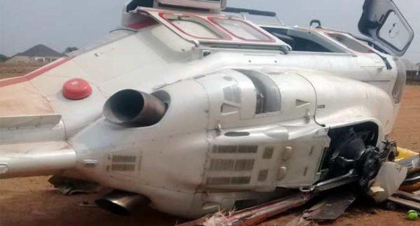 Helicopter carrying Osinbajo Crash-lands in Kogi | BellaNaija