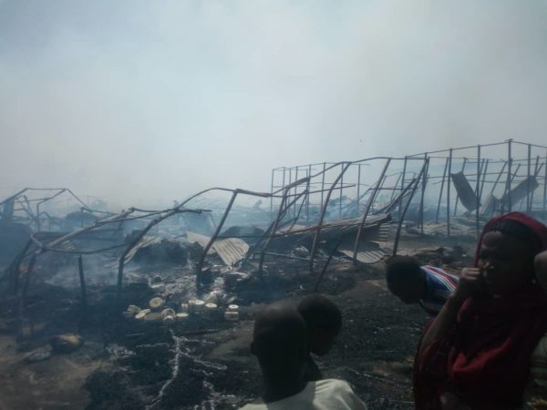 Children Allegedly Die in Borno IDP Camp Fire | BellaNaija