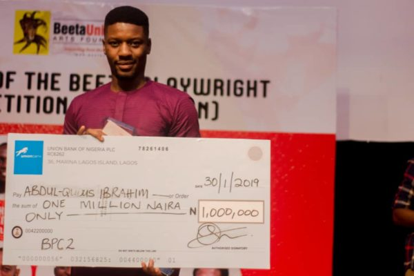 Abdul-Qudus Ibrahim's Play JAGAGBA emerges Winner in the Beeta Playwright Competition (BPC)