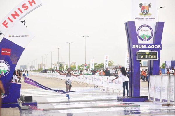 Ethiopian Sintayehu Legese wins Access Bank Lagos City Marathon | BellaNaija