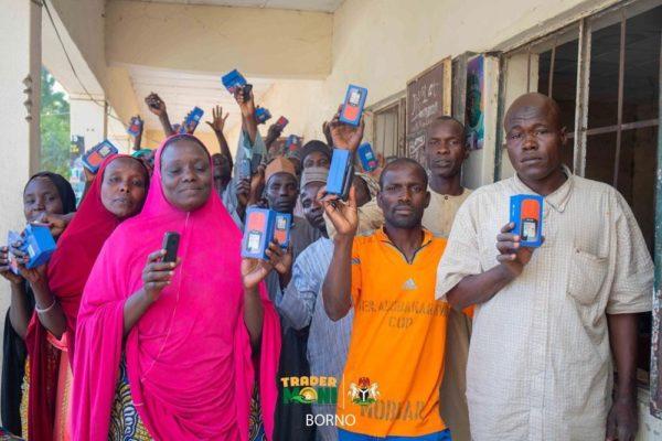 TraderMoni Beneficiaries with Free Phones