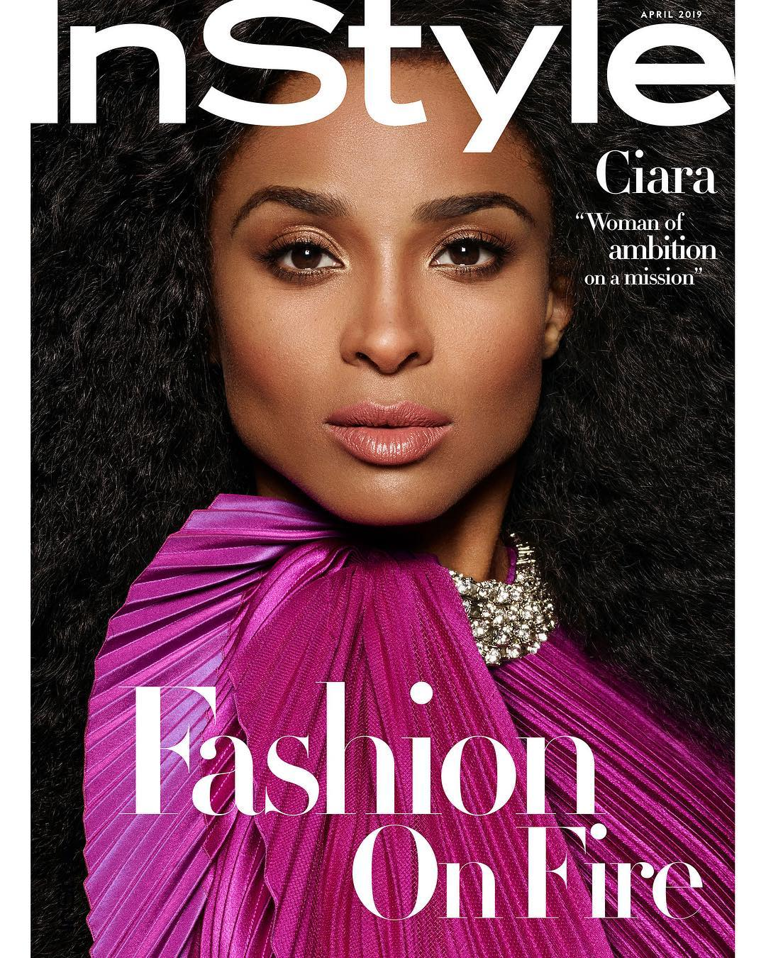 Instyle Magazine Us: Ciara Shares Her Post-Baby Snapback Secrets In InStyle