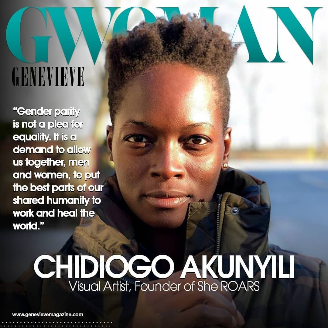 Chidiogo Akunyili makes a case for Gender Equality on Genevieve Magazine | BellaNaija