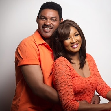 """So long, yet so new"": Omotola Jalade-Ekeinde & Captain Matthew celebrate 23rd Wedding Anniversary"