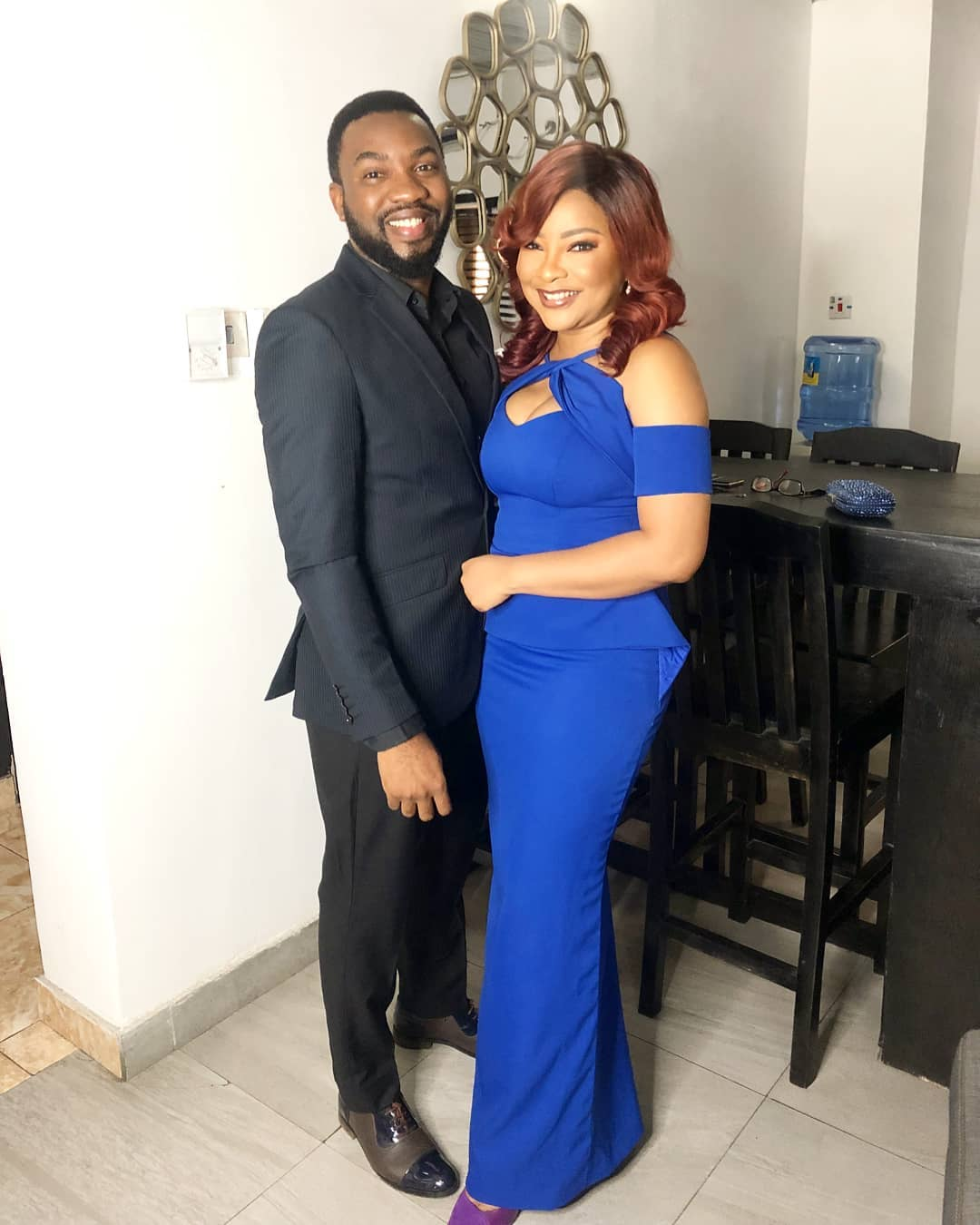 It was Date Night for lovebirds Linda Ejiofor & Ibrahim Suleiman Last Night 😍