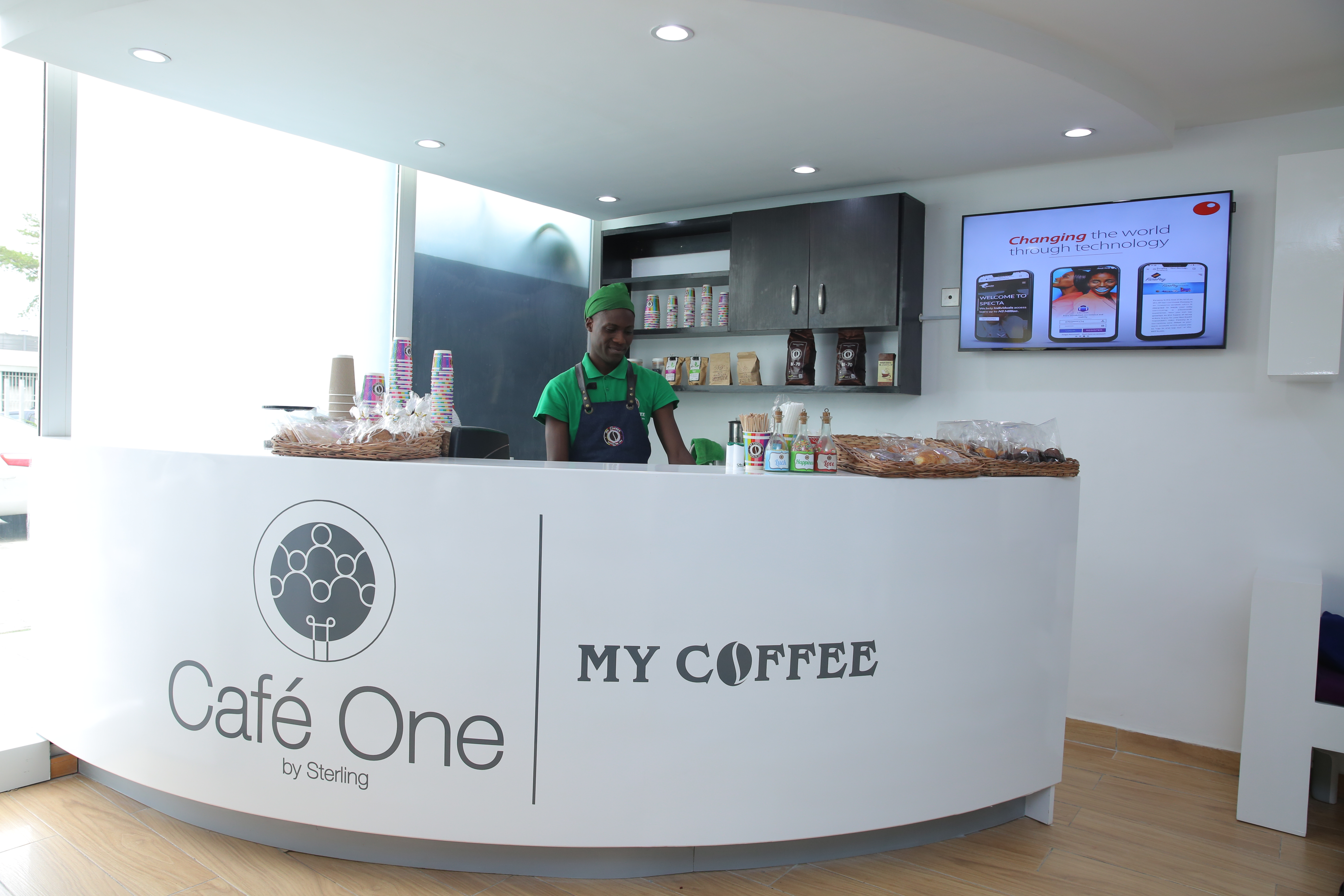 Cowork, Ideate, Network while sipping Coffee at Café One