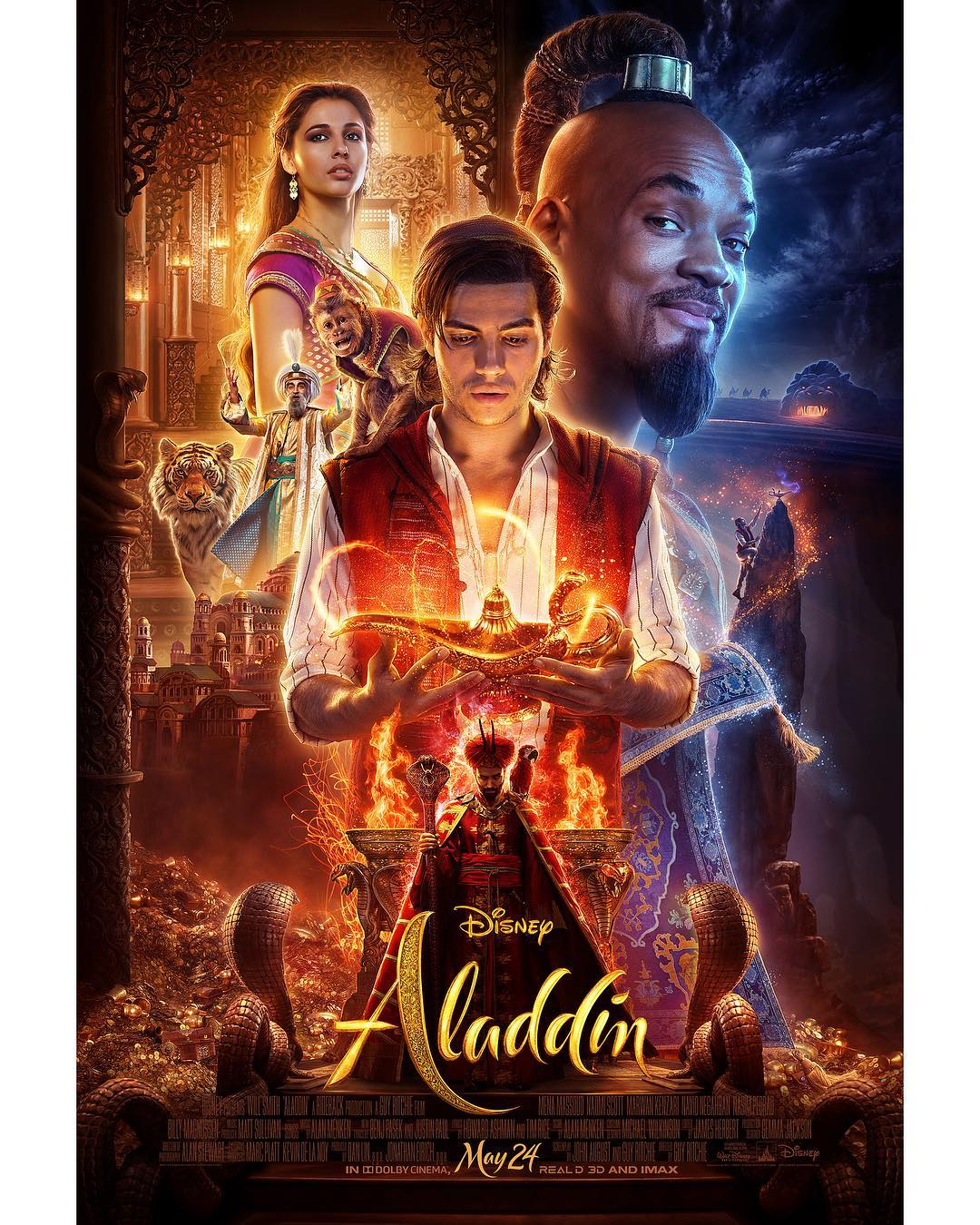 New Aladdin trailer released Disney