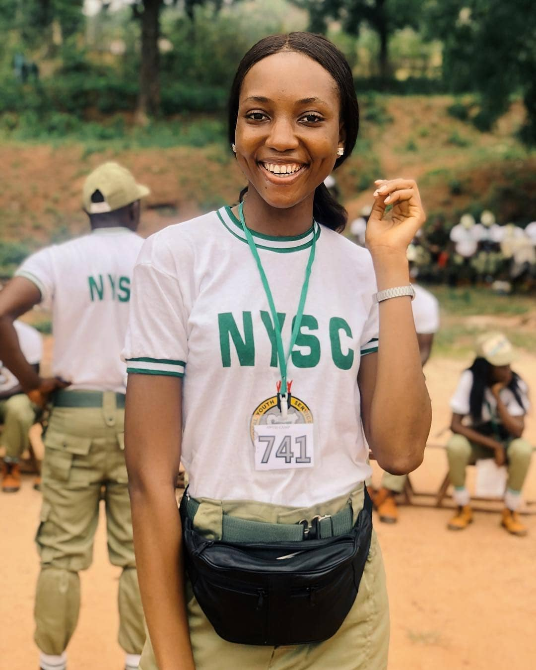 "MBGN World 2018 Anita Ukah is now a ""Corper""!"