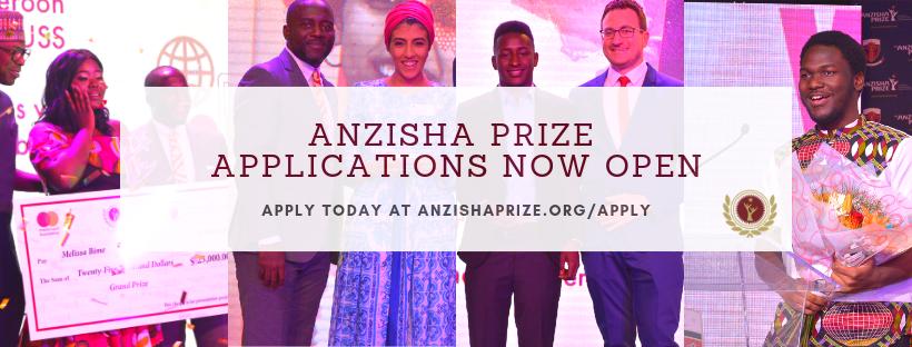 Anzisha Prize application now Open - BellaNaija