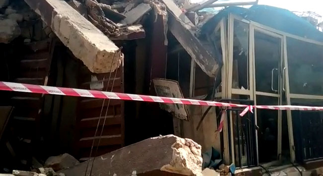 Third Building in 2 Weeks Collapses in Lagos Island