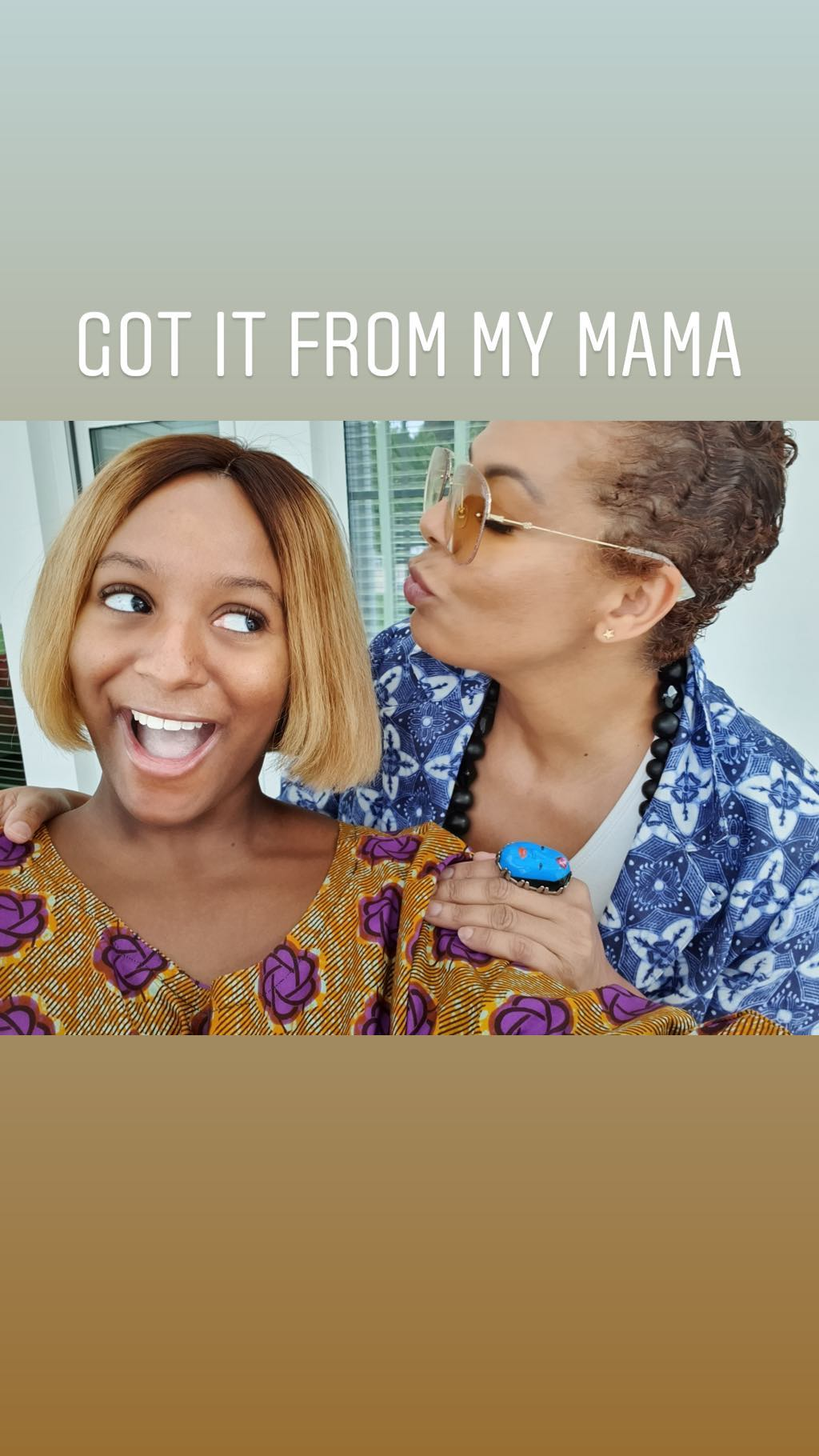 DJ Cuppy & Mum Nana just shared the Cutest Birthday Shoutout to Temi Otedola