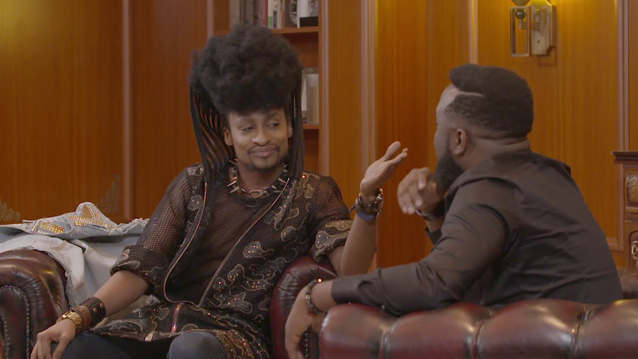 "Denrele addresses comparisons with Bobrisky on VJ Adam's ""Off the Top"" 