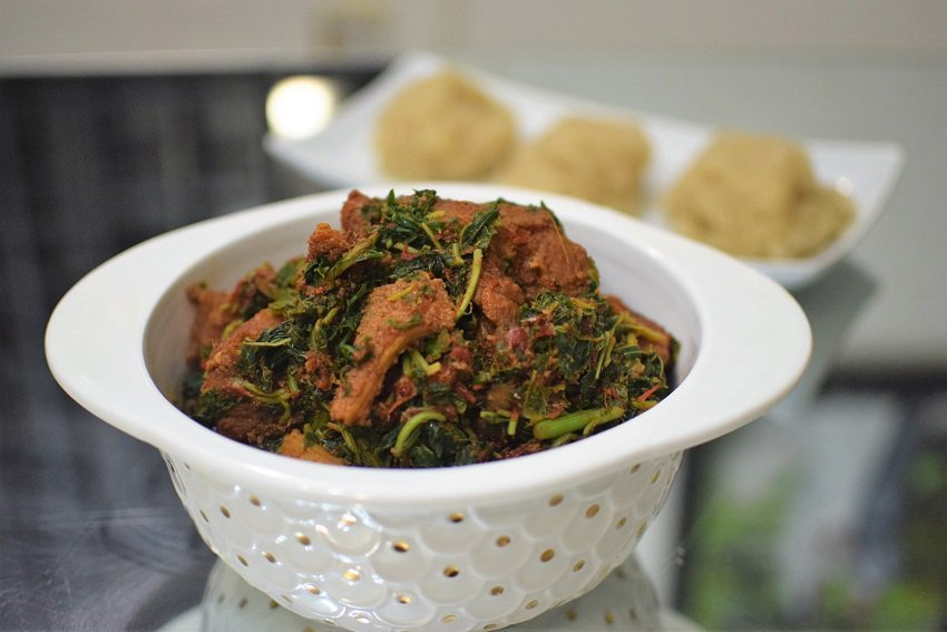 This Easy Cook Healthy Efo Riro by Minjiba Cookey is Perfect for Weight Watchers