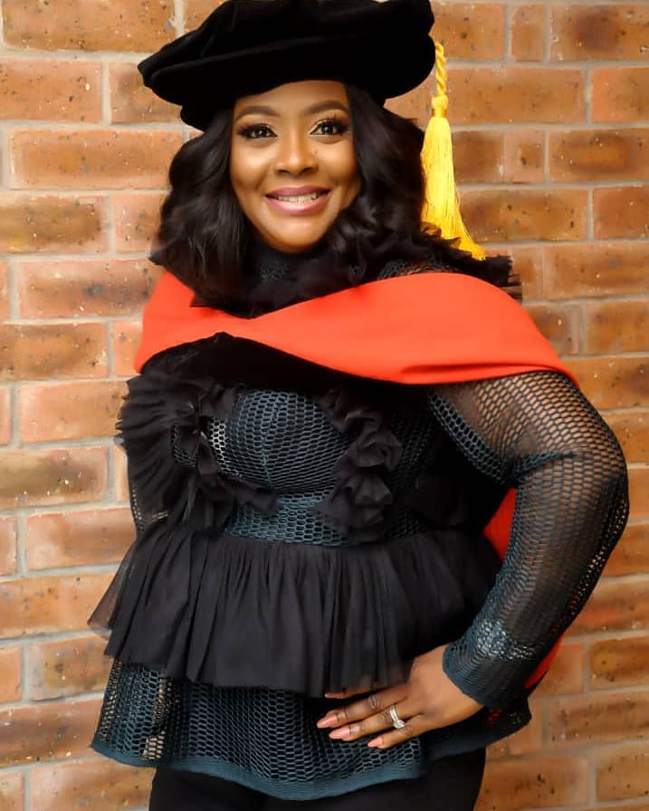 Helen Paul bags PhD in Theatre Arts from University of Lagos - BellaNaija