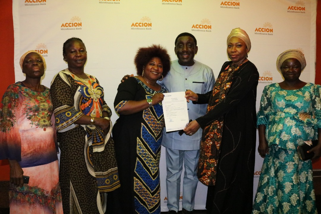 Accion MFBHonours Widows With Medical Insurance Worth N1 Million Each