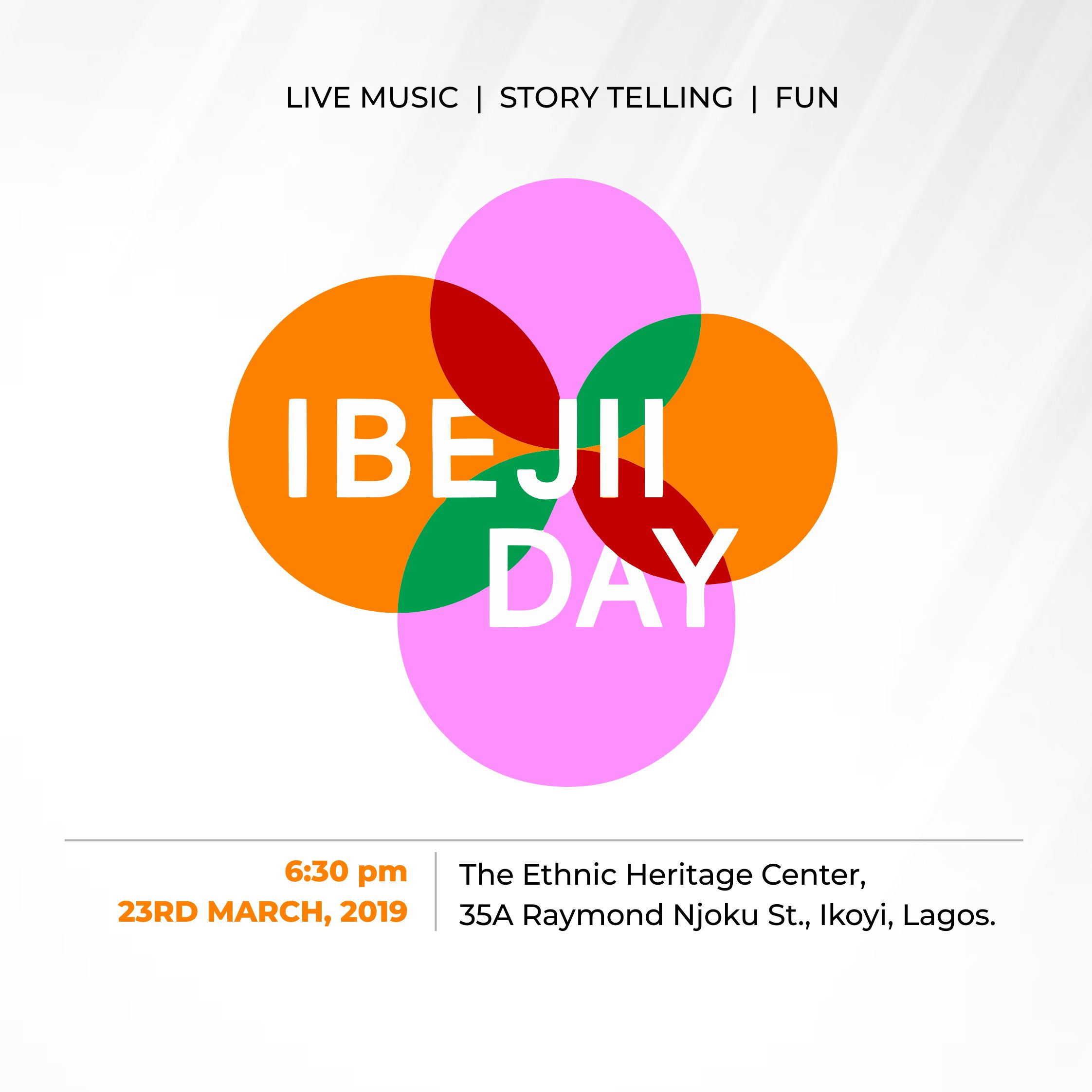 Ibejii Day Live in Lagos | Saturday, March 23rd