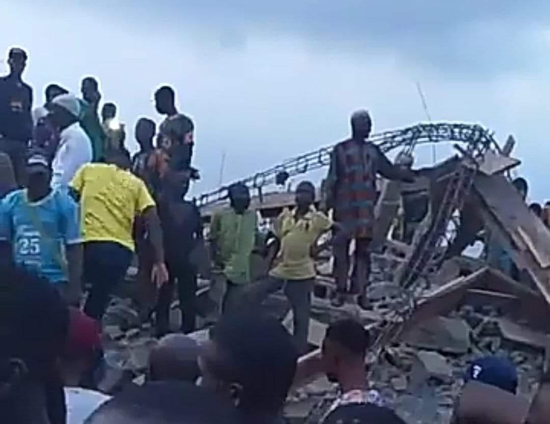 Building Under Construction Collapses in Ibadan