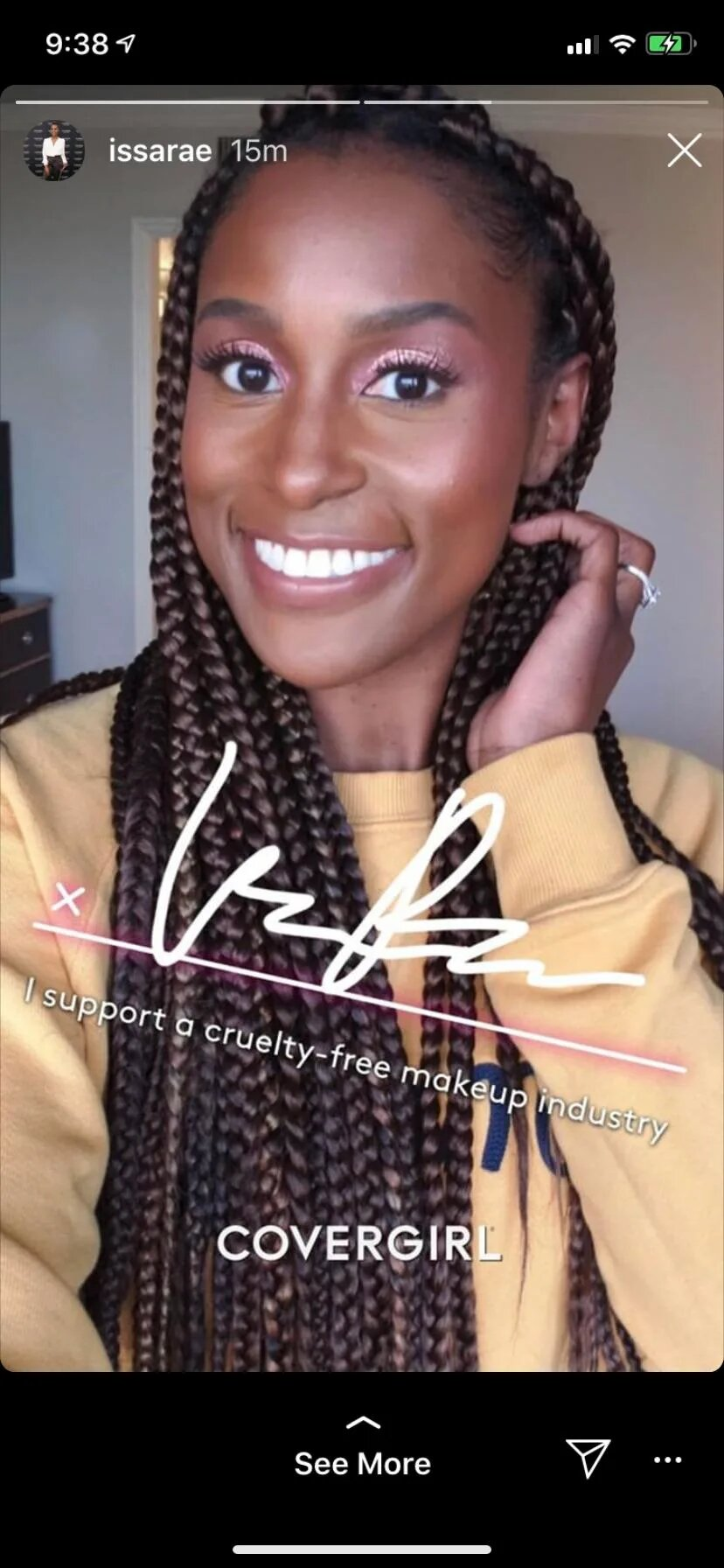 jaiyeorie + Engagement Rumours trails Issa Rae's Essence Cover + her fiance