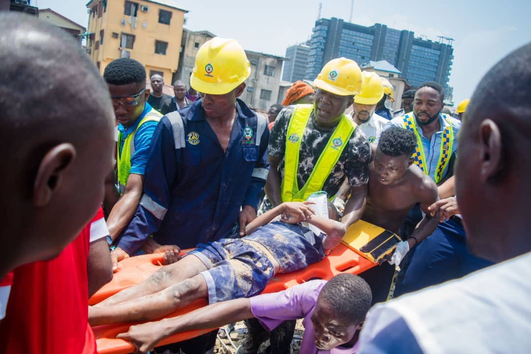 LASEMA says All Trapped Bodies from Lagos School Collapse have been Recovered | BellaNaija