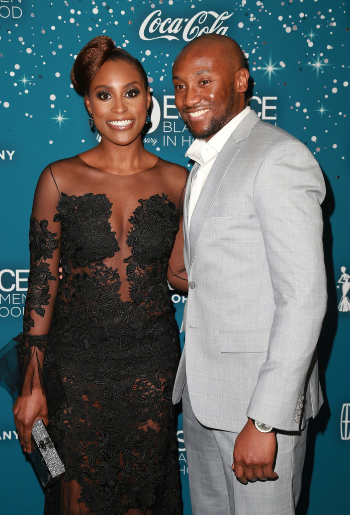 Issa Rae and Louis Diame Photo Credit: Amanda Edwards/WireImage/Getty Images